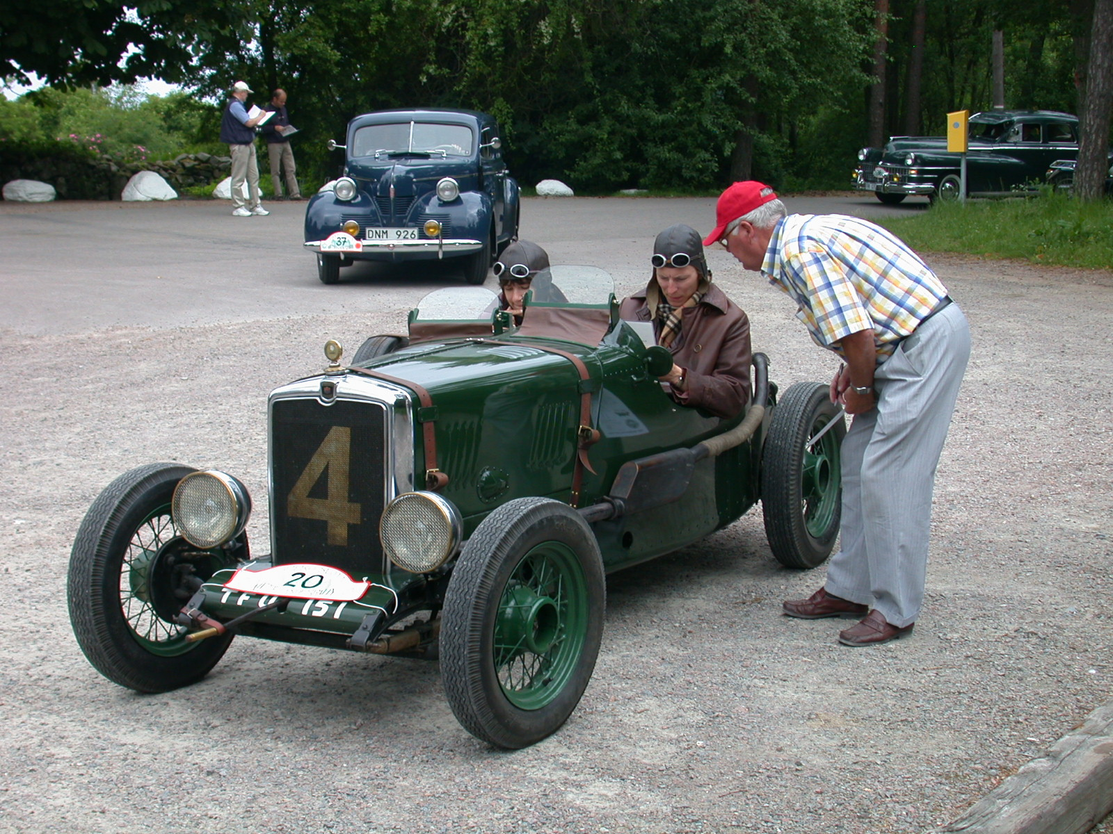 SWEDISH OLD CAR RALLY | Simanaitis Says