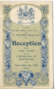 The city of Manchester celebrated the heroes. Note