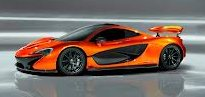 The McLaren P1 plug-in hybrid will be introduced at Geneva in early March.