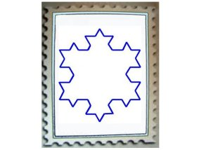 The Koch Snowflake gets a lot more intricate, but not much larger.