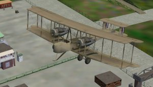 The Vickers Vimy is a default aircraft of Microsoft Flight Simulator.