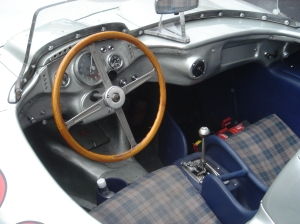 "The ""office"" of Mercedes-Benz 300SLR 722."
