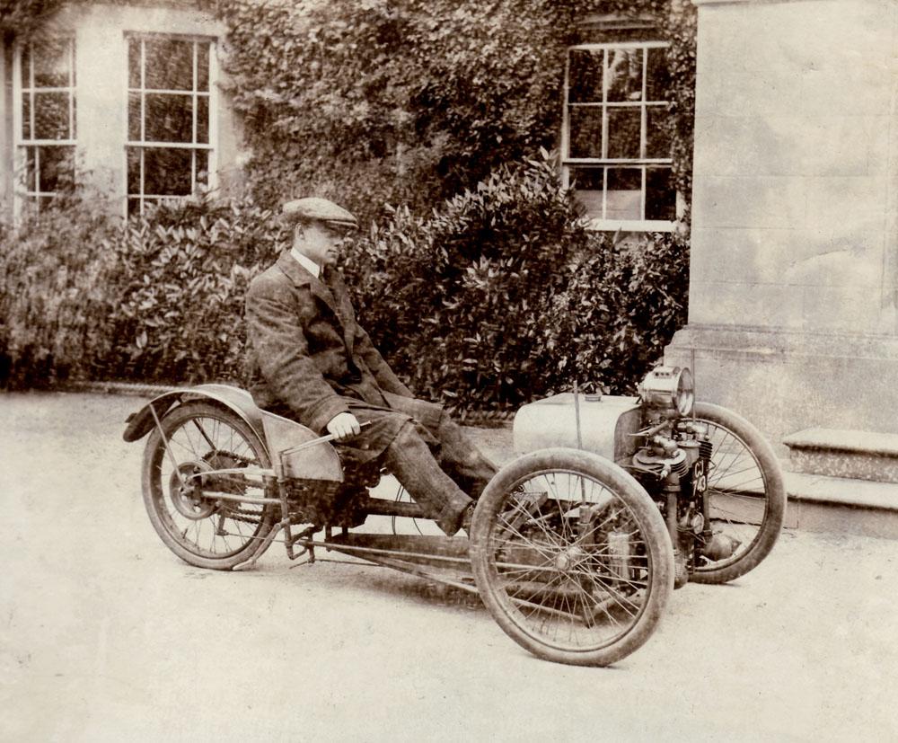 Morgan trikes simanaitis says for The frederick motor company