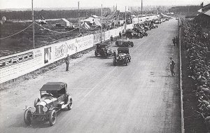 Le Mans start, 1927.