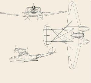 Savoia-Marchetti SM.55X.