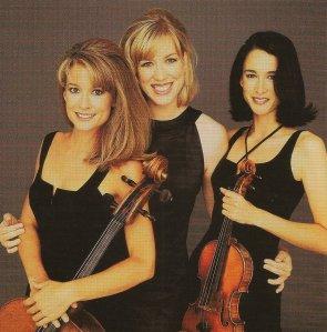 Eroica Trio, c. 1997. from their EMI Classics CD.