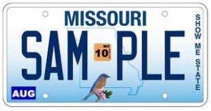 MissouriPlate