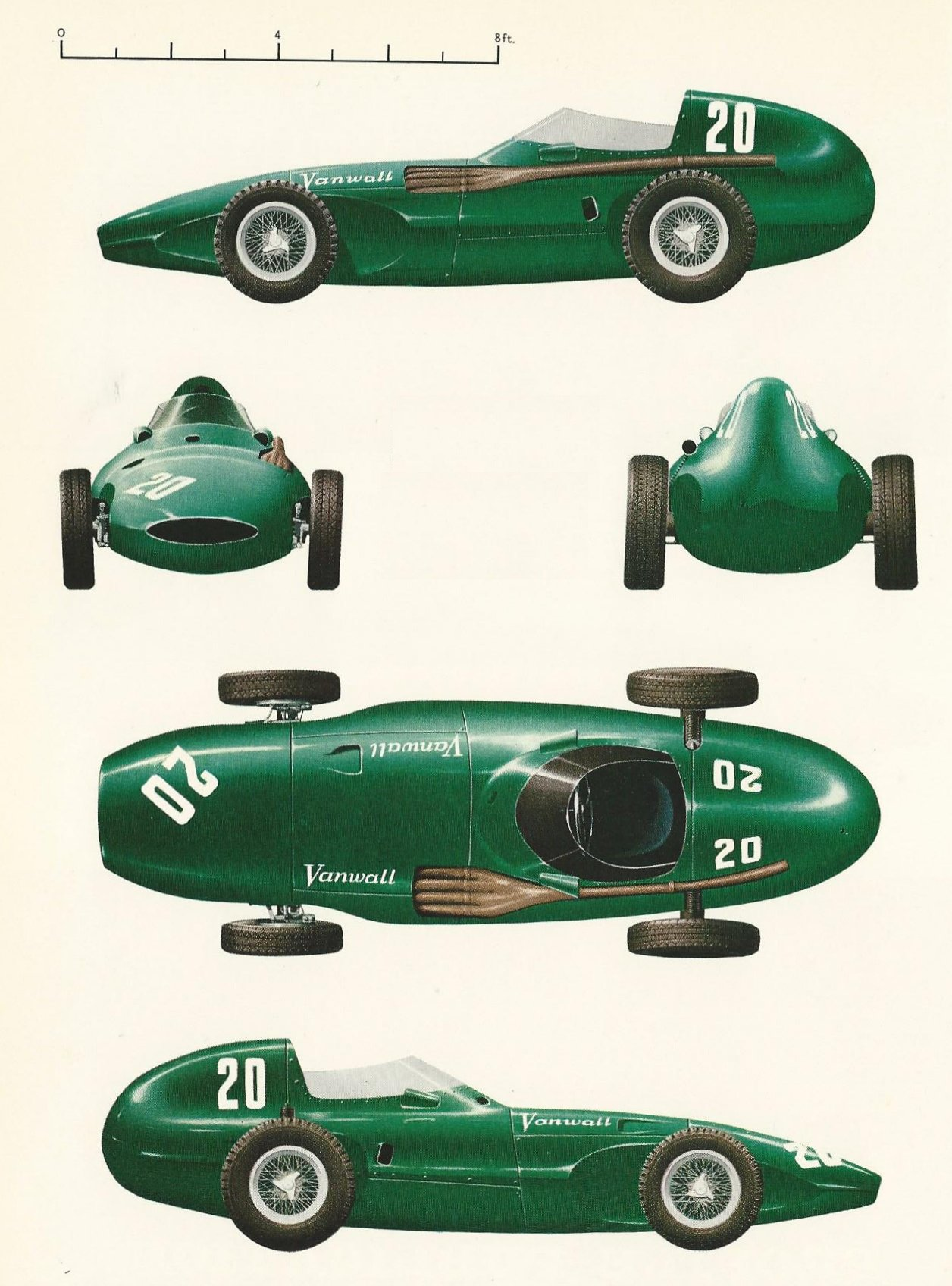 vanwall race cars simanaitis says. Black Bedroom Furniture Sets. Home Design Ideas
