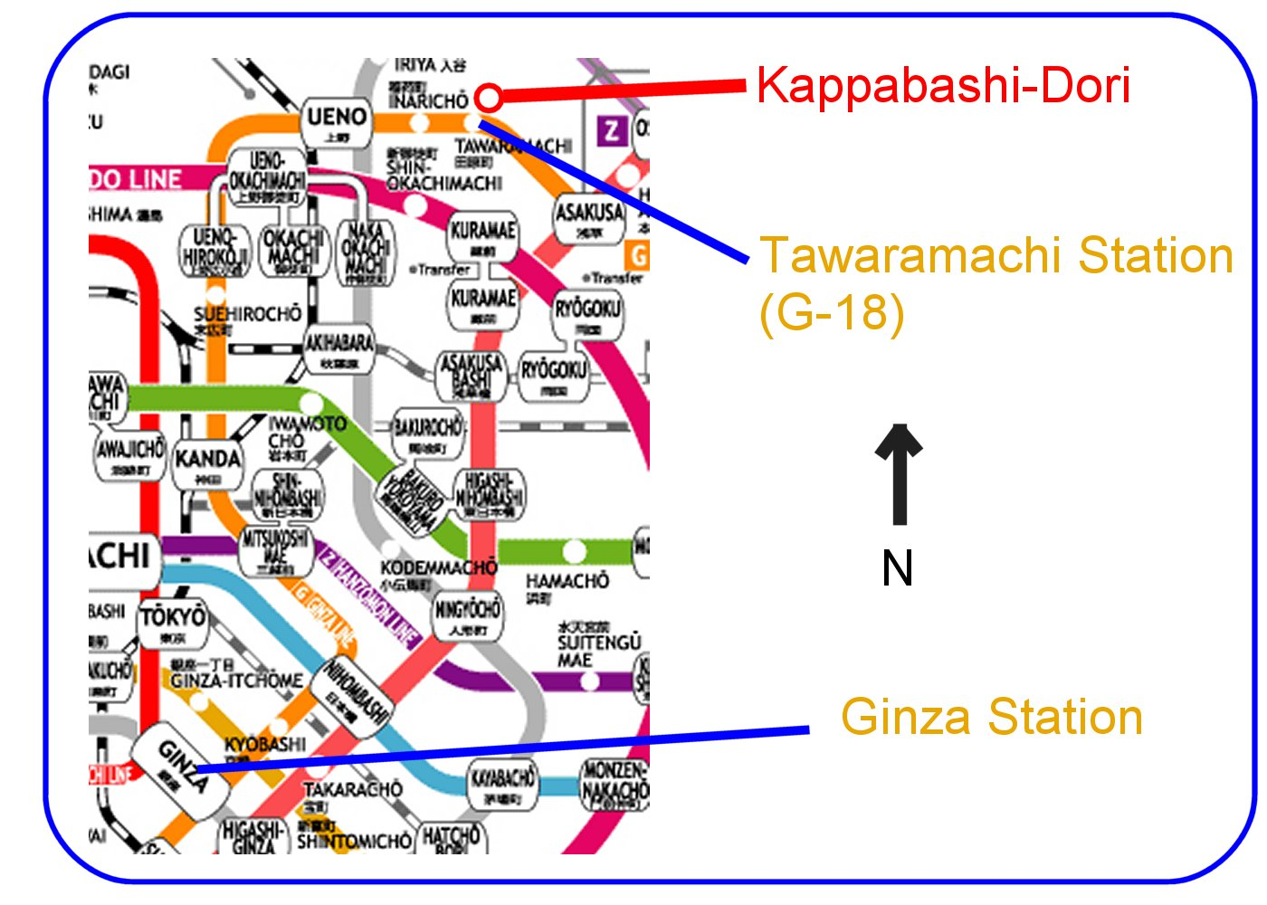subway map directions with Kappabashi Kitchen Town on Map further Zion8 as well Kolkata Metro Map further Info page e further Train.