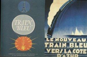 TrainBluePosters
