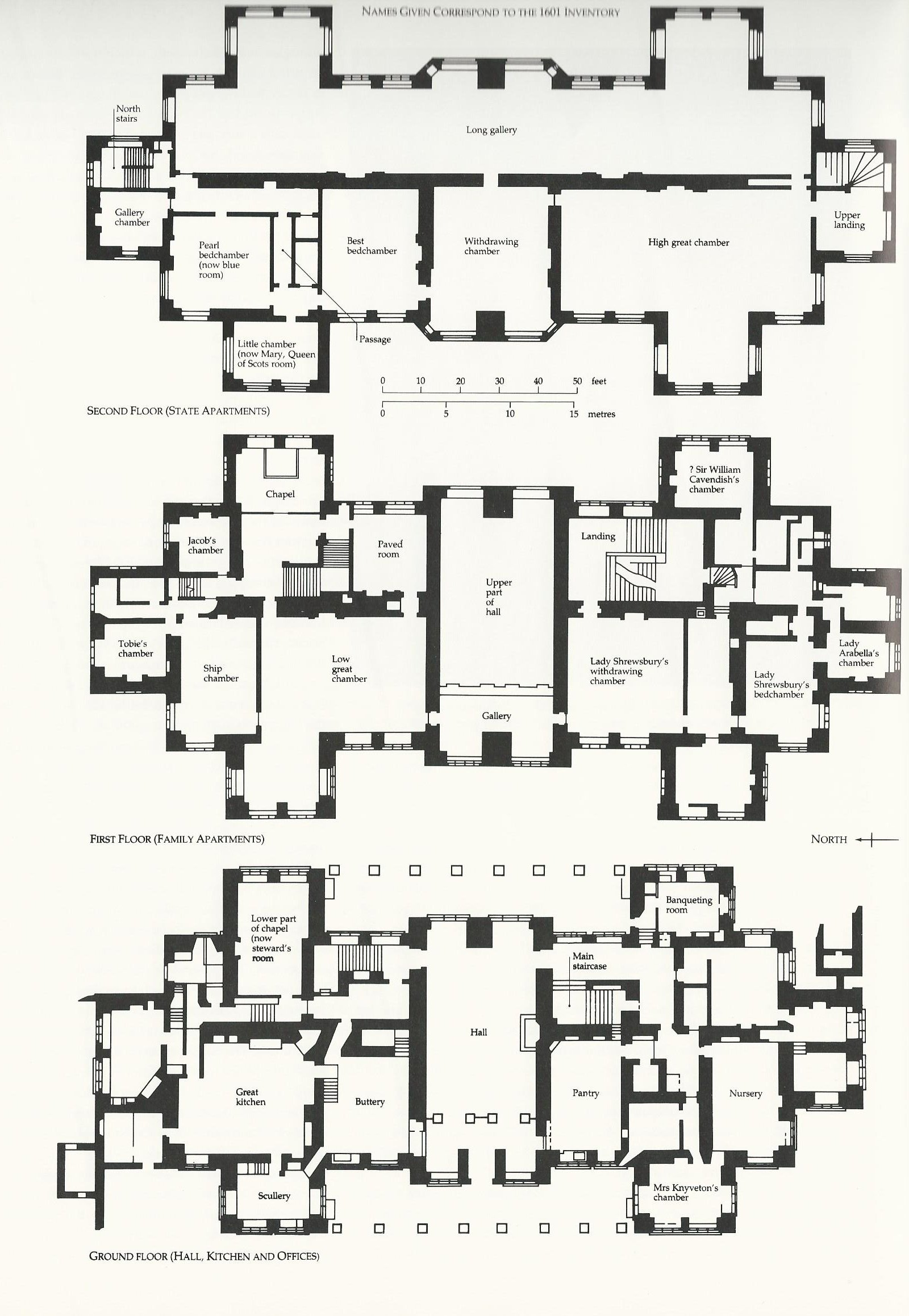 7681 on highclere castle floor plan house