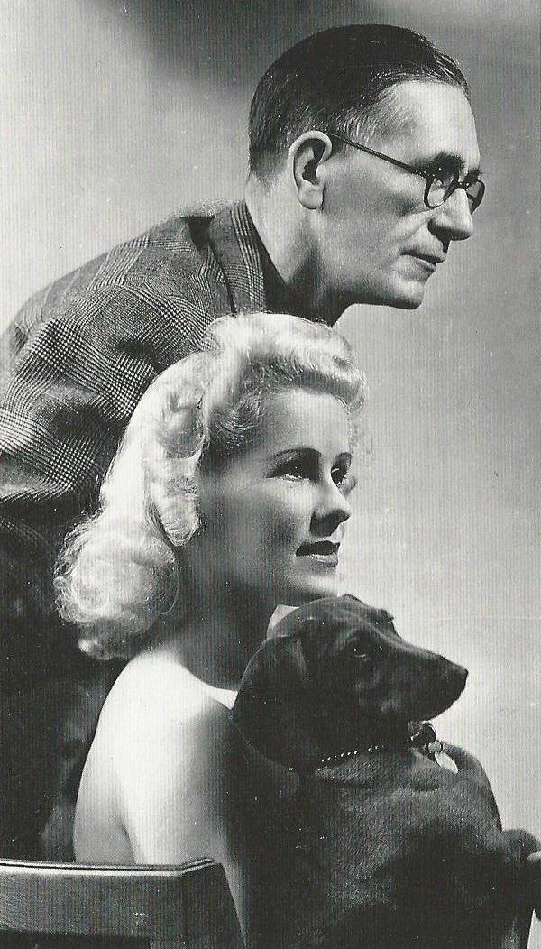 Norman Pett con Jane y Fritz