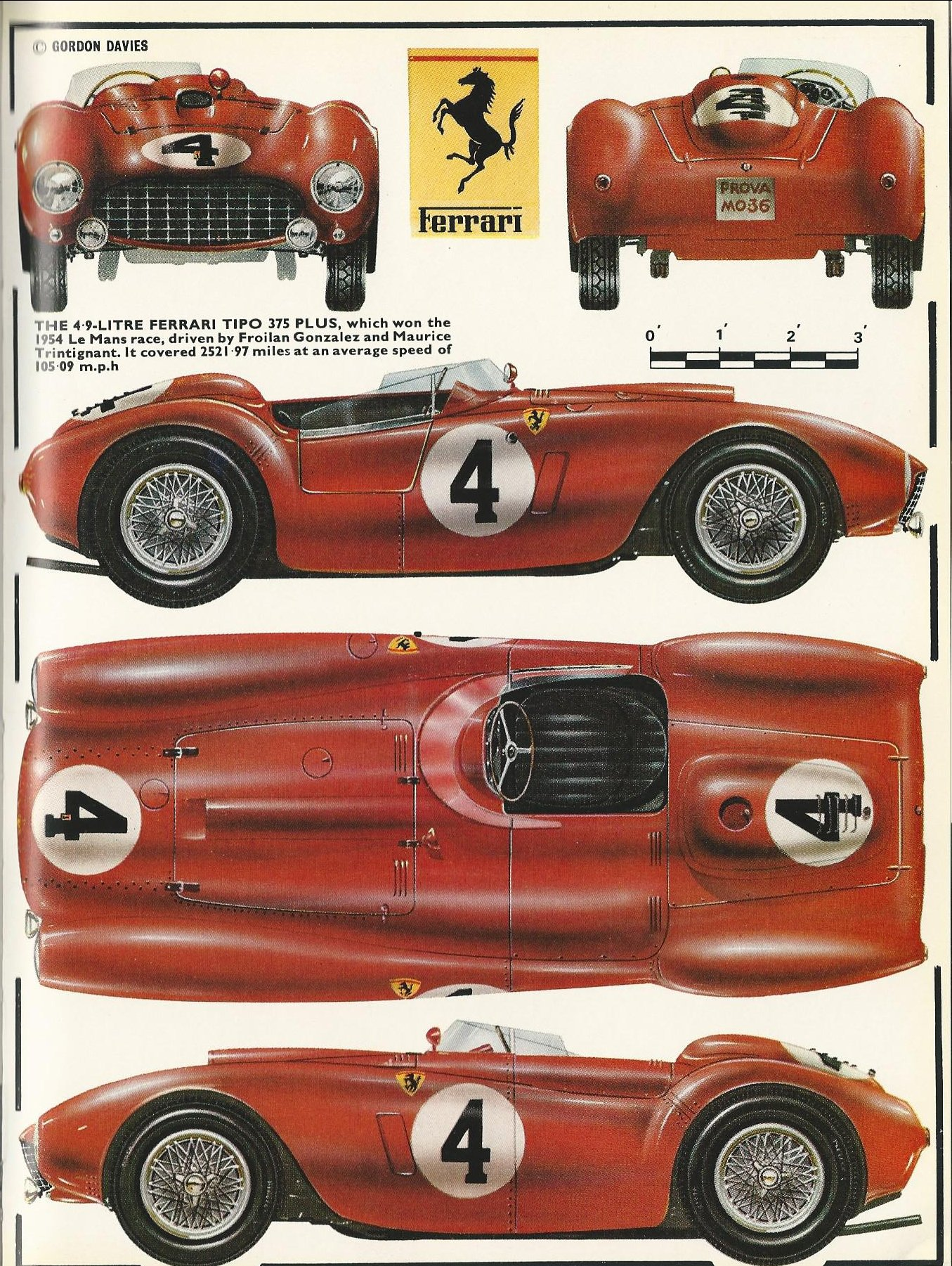 1954 le mans a duel in the rain simanaitis says. Black Bedroom Furniture Sets. Home Design Ideas