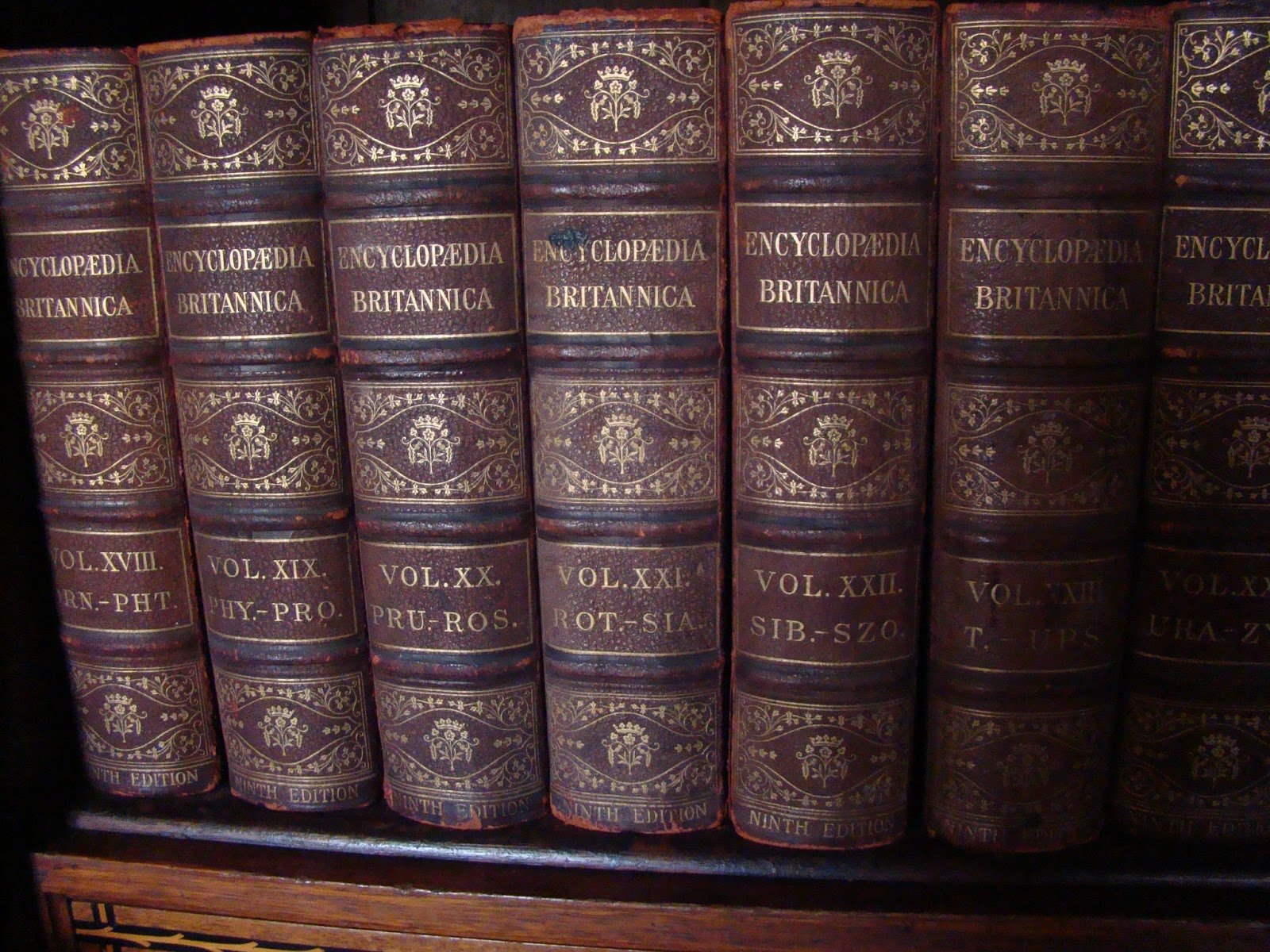 the bookshelves at 221b simanaitis says m