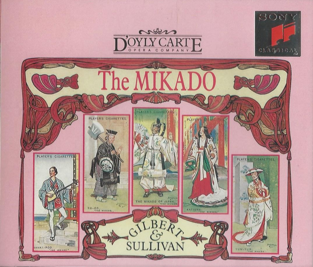 gilbert sullivan the mikado The mikado, in full the mikado or, the town of titipu, operetta in two acts by  ws gilbert (libretto) and sir arthur sullivan (music) that premiered at the savoy .