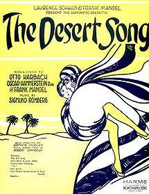 The Desert Song, 1926.