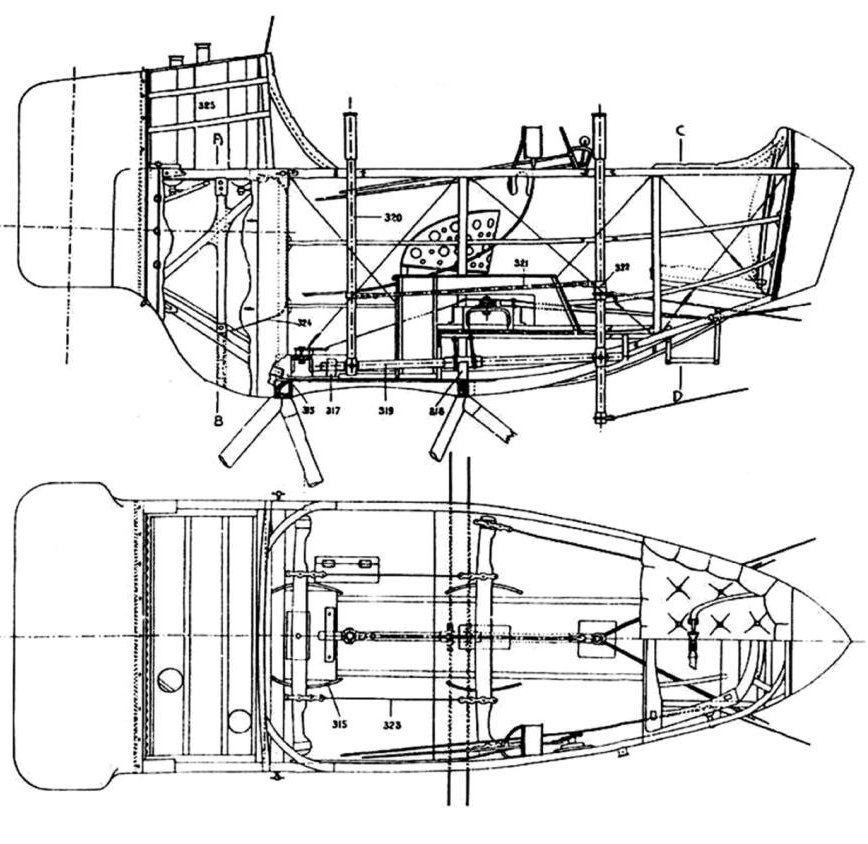 Caudron G 3 Technicalities