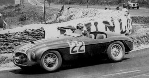 This Ferrari 166MM, winner of the 1949 Le Mans, also won its Index of Performance award.