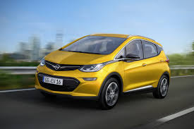 The Opel Ampera-e, Euro cousin of the Chevrolet Bolt.