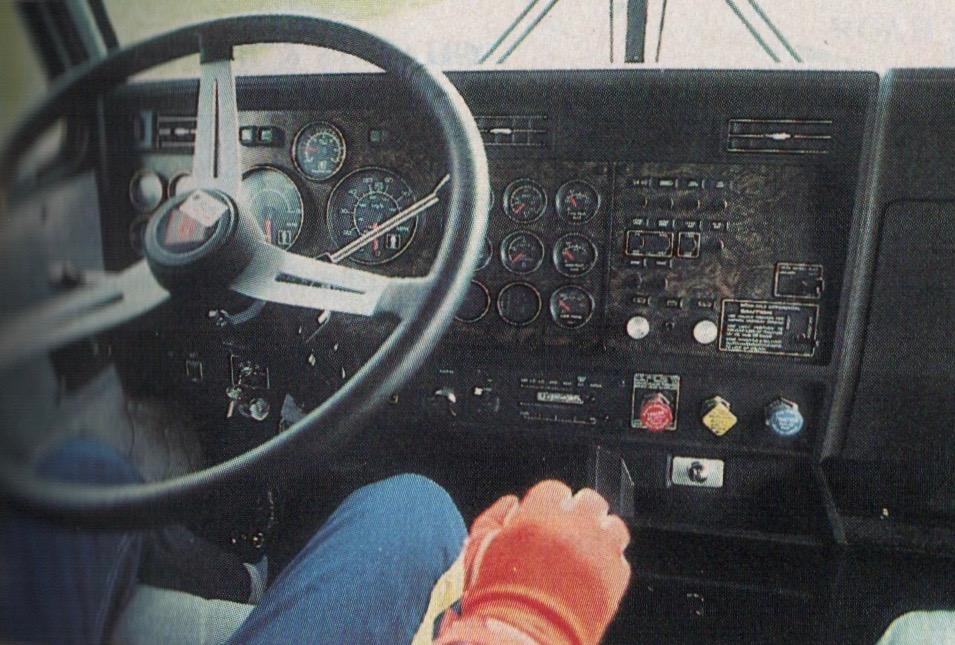 Kenworth W60 Aerodyne Simanaitis Says Extraordinary Kenworth W900l Shift Pattern