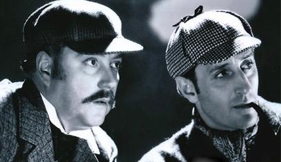 Sir John Gielgud = Holmes Sir Ralph Richardson = Watson